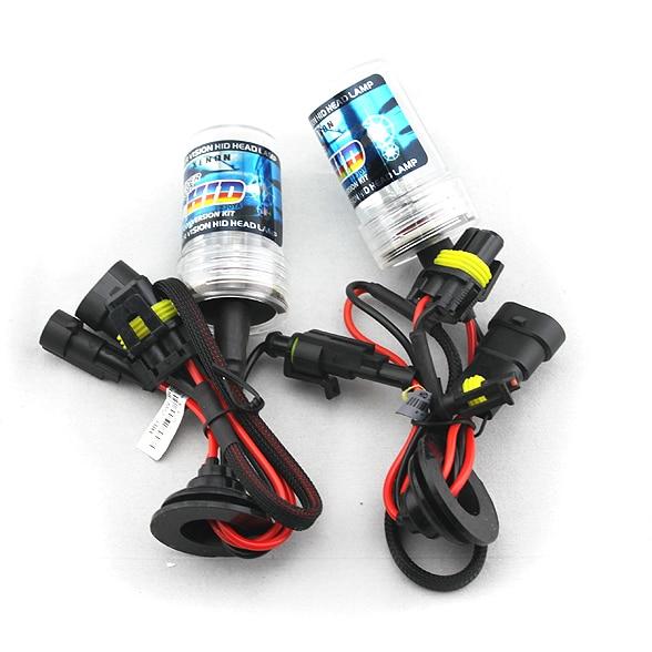 2pcs H1 H3 H7 H11 9005 9006 880 881 H27 9012 H4 H/L Fast start bright HID xenon lamp bulbs AC 35W 4300K 8000K 6000K 3000K