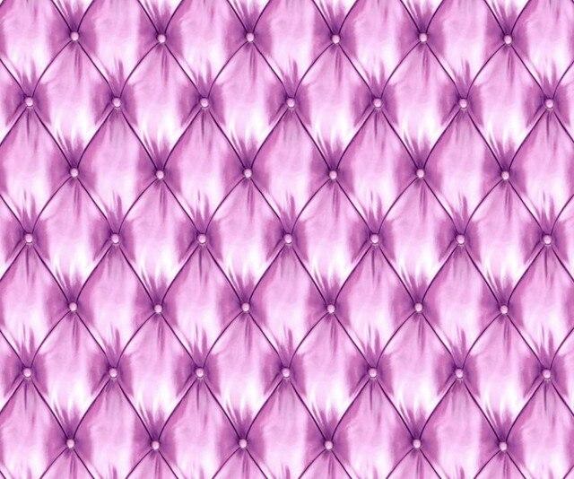Papier peint mural 3d stéréoscopique personnalisé | Texture cuir Violet, canapé du salon, mur de la télévision, papier peint de la cuisine, de la chambre à coucher des enfants