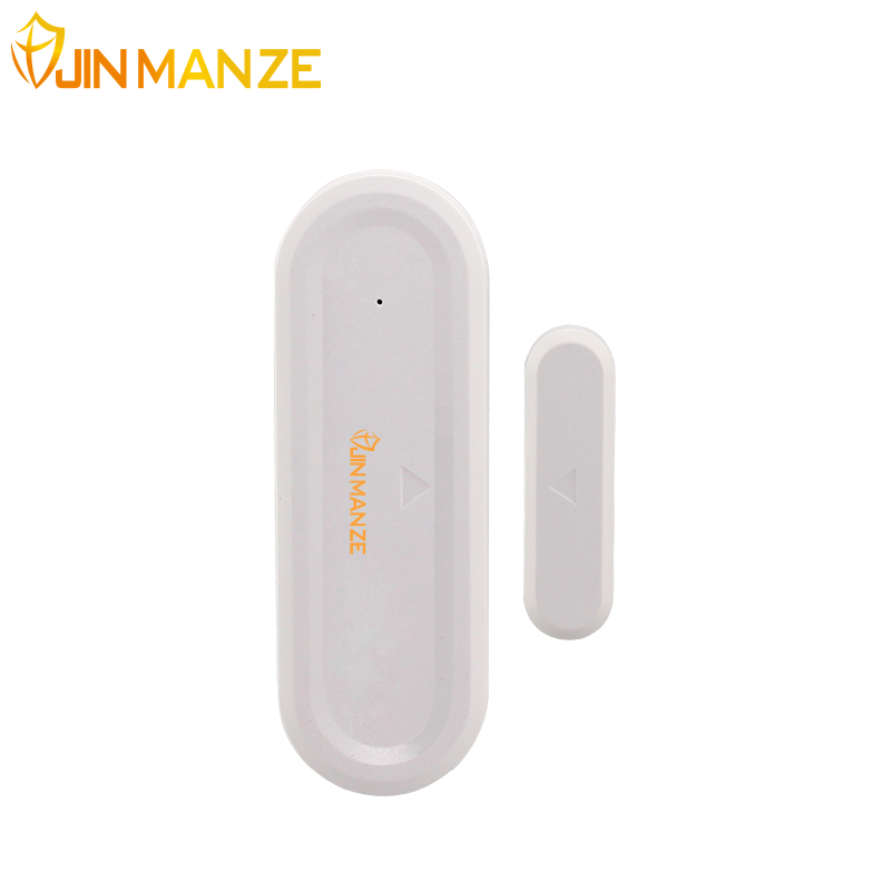 JINMANZE 433 mhz Wireless Door Entry sensor Window detector Universal for our home GSM WIFI Security alarm System 1pcs wireless vibration break breakage glass sensor detector 433mhz for alarm system
