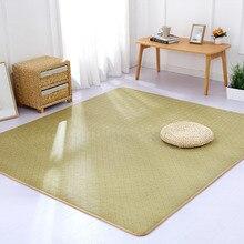 e2079e5d111c47 Giapponese di estate rattan tappeto per bambini stuoia strisciante spessore tatami  tappeto del salotto camera da