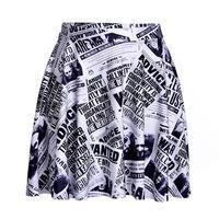 Nouvelles Papier Conception Femmes Sexy Plissée Jupes De Tennis Bowling Short Buste Jupes Plus La Taille Femelle Fitness Vêtements Un Style Jupes