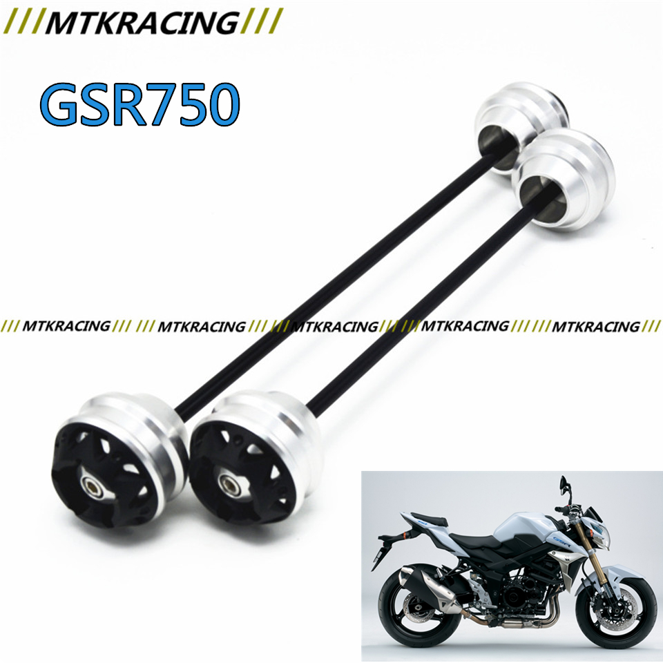 MTKRACING Free delivery for SUZUKI GSR 750 2011-2015 CNC Modified Motorcycle Front and rear wheels drop ball / shock absorber kamal singh rathore neha devdiya and naisarg pujara nanoparticles for ophthalmic drug delivery system