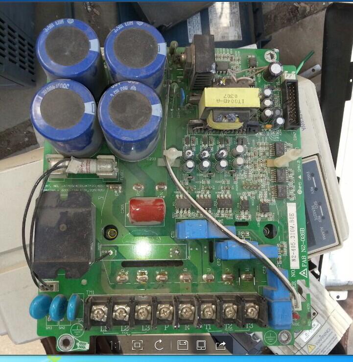 Second-hand inverter 2.2kw/3.7KW of power board/driver board/motherboard N2-406