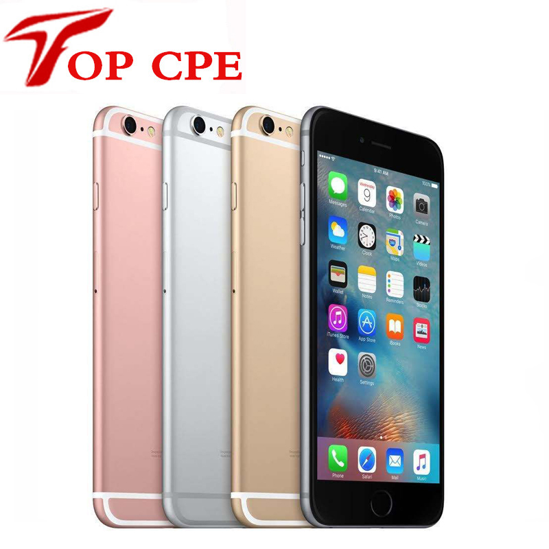 "Original Unlocked Apple iPhone 6S Smartphone 4.7"" IOS 9/10 16/64/128GB ROM 2GB RAM 12.0MP Dual Core A9 4G LTE Mobile Phone"