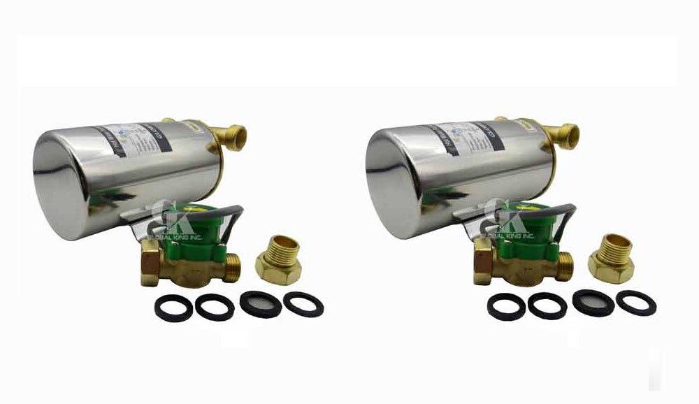 2 шт. 220-240 В насос подкачки 120 Вт автоматический бытовой Нержавеющаясталь водяной насос