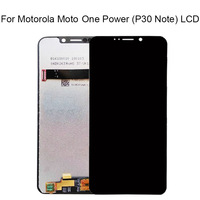 6.2'' For Moto OnePower P30 LCD Screen Display Touch Digitizer Screen Replacement For Motorola One Power Display note lcd