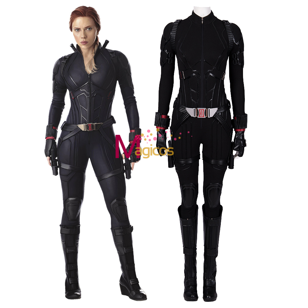 Avengers Endgame Black Widow Cosplay Costume Avengers 4