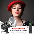 Neewer SL-60W светодиодный свет для видео  белая версия 5600K  60 Вт CRI 95 + TLCI 90 + с пультом дистанционного управления + Рефлектор + крепление для освещен...