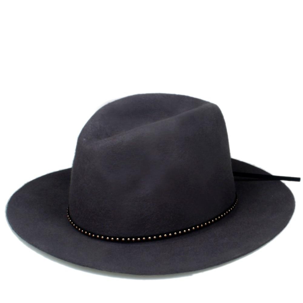 Шерсть для женщин и мужчин Осенняя зимняя фетровая шляпа фетровая Панамка Дерби мягкая фетровая шляпа Головной убор широкополый