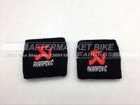 2 Pcs Large Superbike Road Bike Motocross Front Brake Reservoir Sock For Suzuki Kawasaki Yamaha Honda