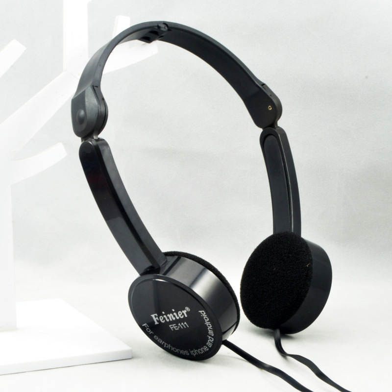 High Fidelity Stereo children earphone Headphone Surround Sound Noise Cancelling with mic support PC Iphone Ipad FE111