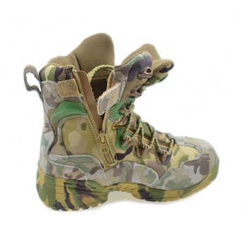 Summer Tactical Boot Army Boots Men's Military Desert Waterproof Work Safety Shoes Climbing Sport Shoes Ankle Men Hiking Boots 4