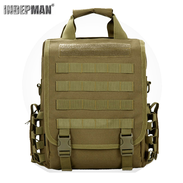 5f63356be290 ... Indepman Oxford Nylon Fabric Material Outdoor Waterproof Backpack  Tactical Camouflage Rucksack For Sport Travel Camping.