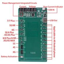 Placa de activación de batería para Samsung y Huawei, accesorios de fijación de prueba segura, placa rápida duradera, carga rápida