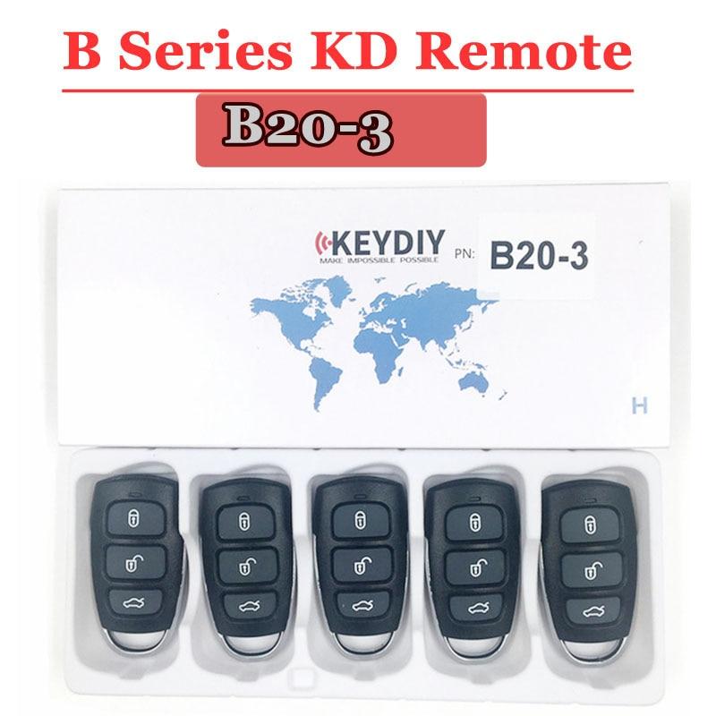 Free Shipping (5pcs/lot)KD900 Remote Key B20 3 Button Remote Control For URG200/KD900/KD900+ Machine