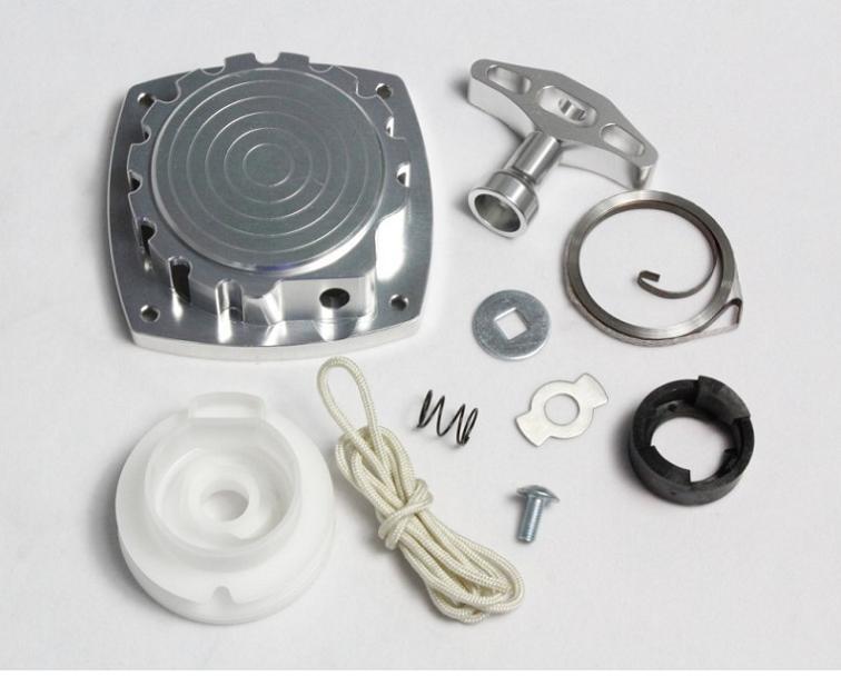 1/5 échelle CNC en aluminium démarrage par traction, démarreur adapté Baja 5 T 5SC 5B CY Zenoah KM