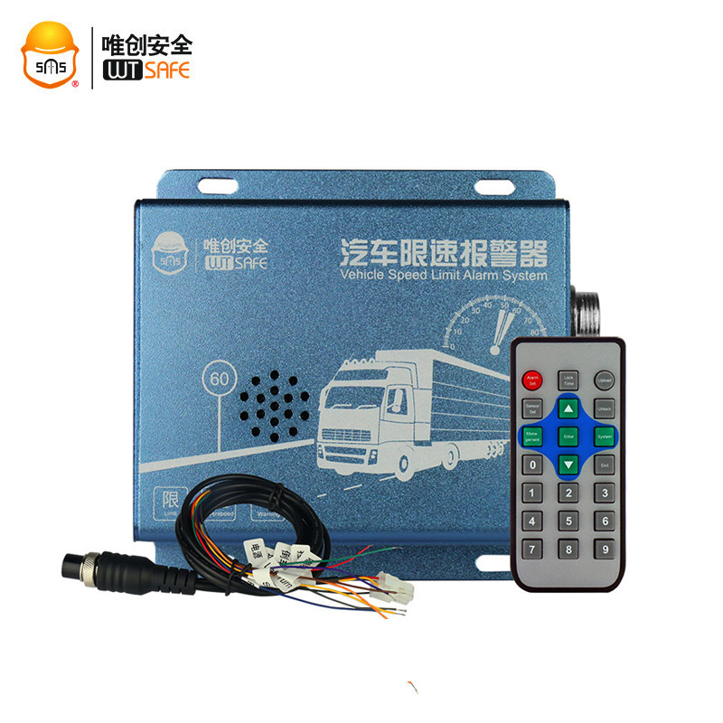 Electric Diesel Vehicle Speed Limiter Overspeed Governor Alarm for Truck Bus