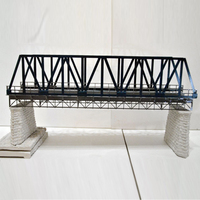 1:87 scale elevated railway bridge model kit architectural model material sand table model unassemble
