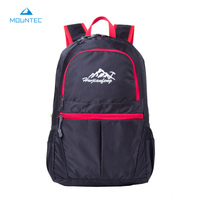 MOUNTEC Lightweight Foldable Waterproof Nylon Women Men Children Backpack Travel Outdoor Sports Camping Hiking Bag Rucksack
