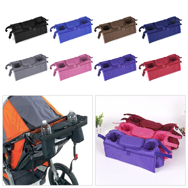 dc4e5db27 Portable Baby Stroller Cup Holder Organizer Infant Carriage Pram Cup ...