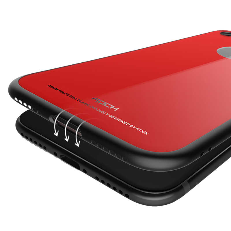 rock iphone 8 case red