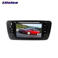 Dla Volkswagen VW Seat 2013 ~ 2017 LiisLee Car Multimedia TV DVD Nawigacji GPS Audio Hi-Fi Radio Stereo Oryginalne Stylu NAV NAVI