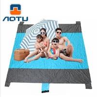 Outdoor Ultralight Camping Mat Picnic Blanket Picnic Sand Free Beach Mat Folding Bed Mat For Beach Camping Damp proof 240*230cm