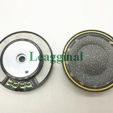 Headset Speaker 40mm Cone-Paper Brass-Ring Carbon Middle-Hole Wool 16ohms Black 1pair--2pcs