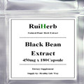 1 Pack de Frijol Negro Extracto de la Cápsula de 450 mg x 180 unids de Pérdida de Peso de Gran Alcance