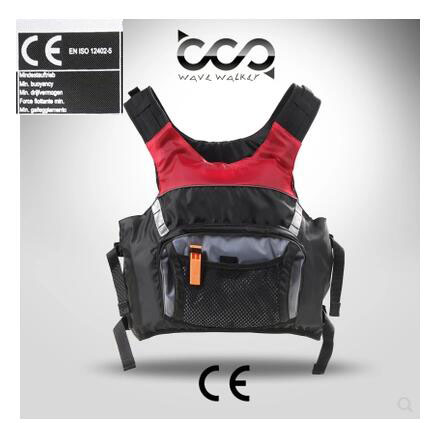Genuine CE ISO12402 5 Certified Adult Life Jacket LifeVest Drifting Boating Survival Safety Jacket Water Sport