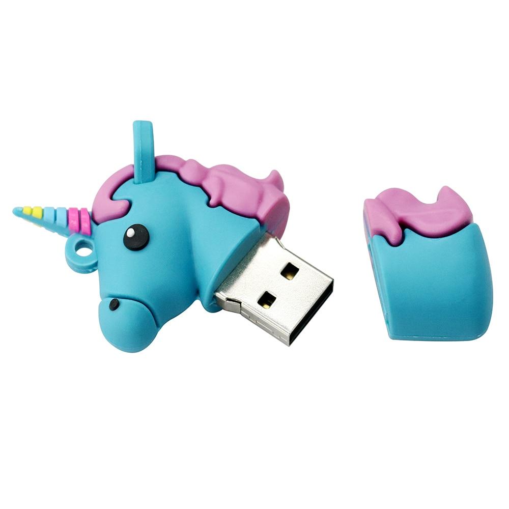 USB Flash Drive գեղեցիկ գունագեղ միաեղջյուր - Արտաքին պահեստավորման սարքեր - Լուսանկար 6
