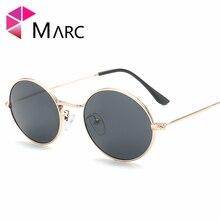 MARC UV400 WOMEN Round metal sunglasses Rimless PRed Pink Mirror Sol gafas oculos eyewear Men