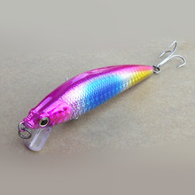 Discount 4pcs 3.74in 0.44oz saltwater deep sea minnow fishing lures with jig hooks Minnow Fishing Lures Crankbaits Equipment