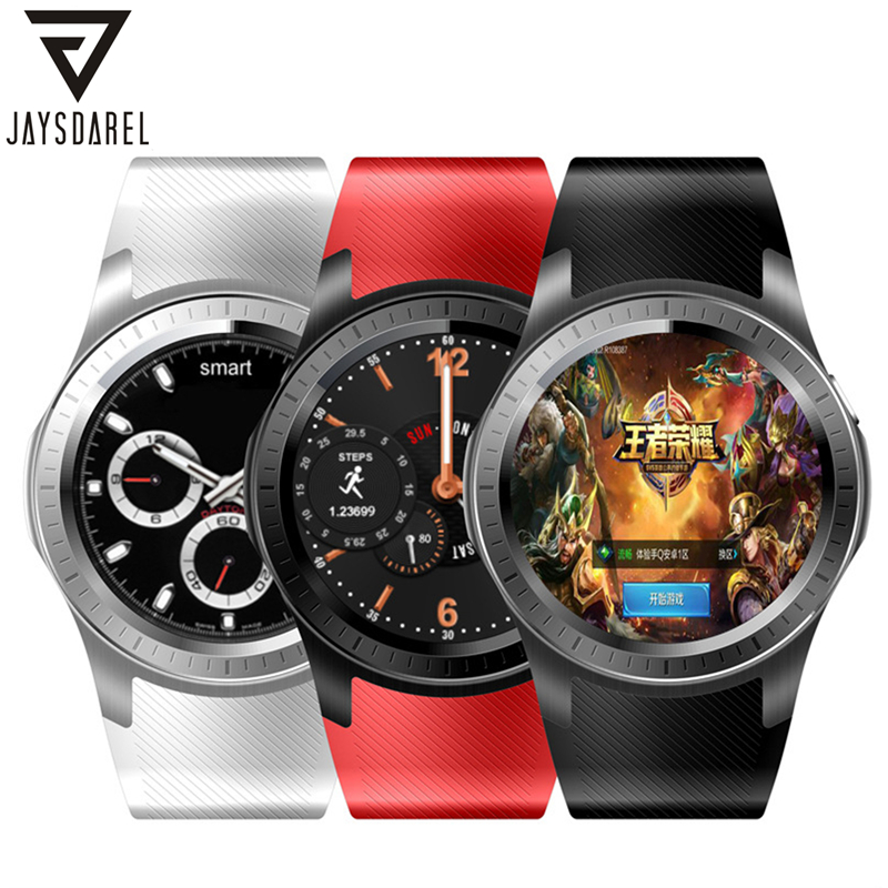 JAYSDAREL GW10 Android 5.1 OS Smart Watch Phone Heart Rate GPS WIFI Camera Support 3G SIM Card Smart Wristwatch for Android iOS smart phone watch 3g 2g wifi zeblaze blitz camera browser heart rate monitoring android 5 1 smart watch gps camera sim card