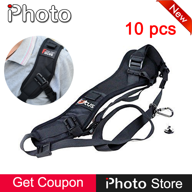 Wholesale 10 Pieces F-1 DSLR Camera Quick Release Rapid Shoulder Sling Neck Strap Belt for Canon Nikon Sony Photo Accessories