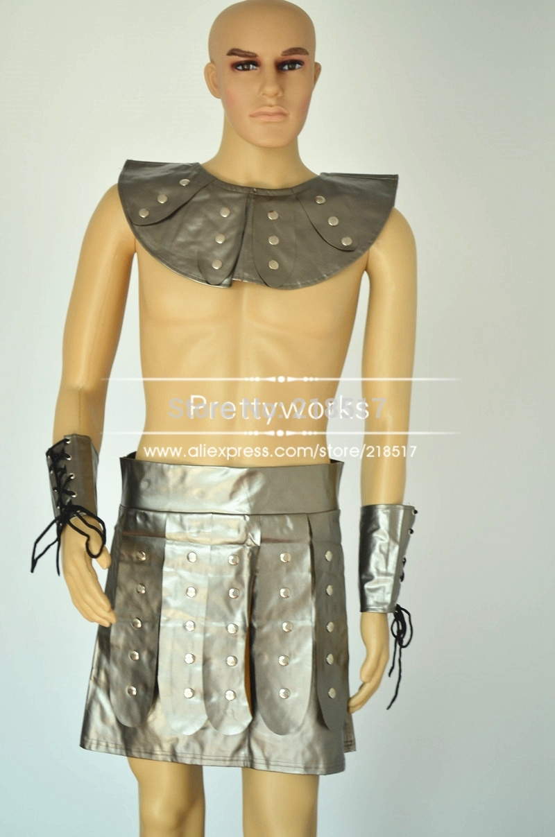 Aliexpress.com : Buy Adult Men Fancy Dress Roman Brave Warrior ...