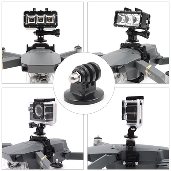 For DJI Mavic Pro Drone Gimbal Camera Mount Multifunction Fixed Bracket LED Light Buckle Holder For DJI Mavic Pro Accessories 6
