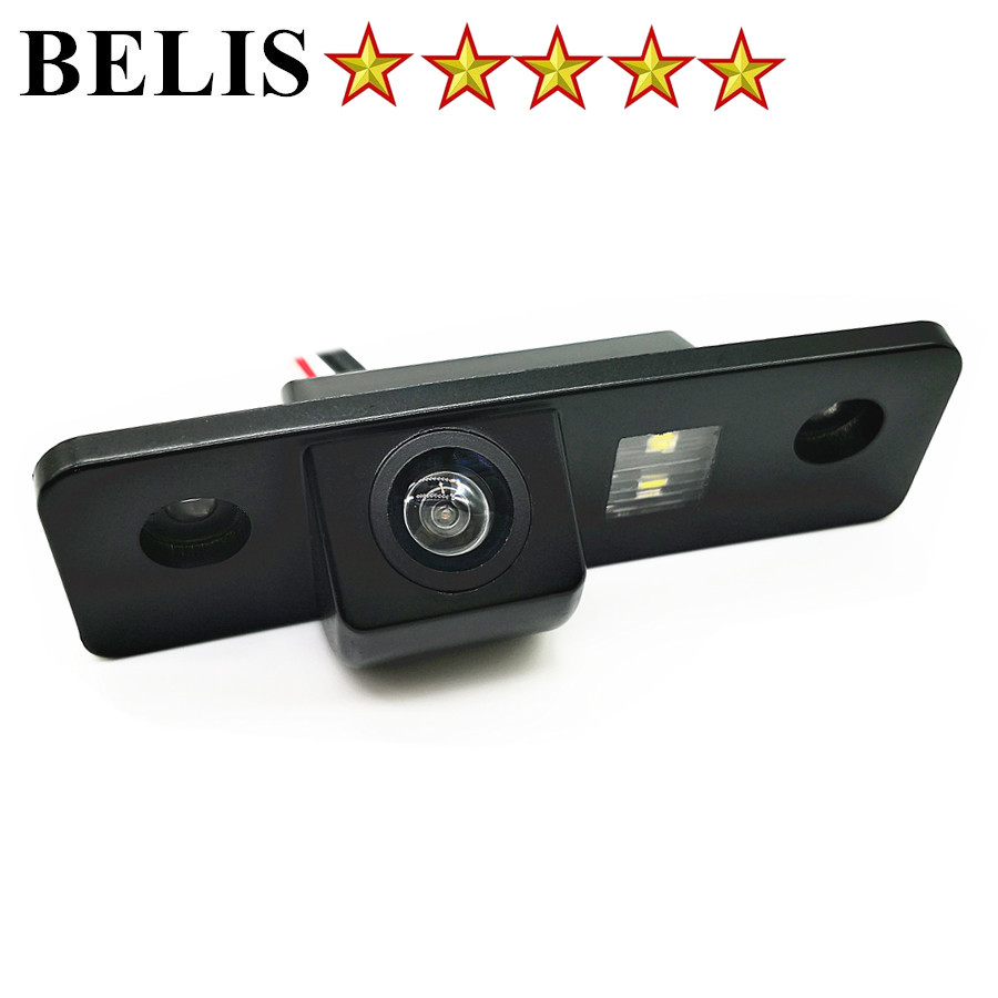 rear view camera vehicle Parking assist CCD HD Auto Backup Reverse Rearview camera For Skoda Octavia