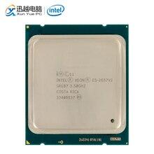 Intel Xeon E5 2637 v2 שולחן עבודה מעבד 2637 V2 Quad Core 3.5GHz 15MB L3 מטמון LGA 2011 שרת מעבד משומש
