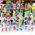 10 шт./лот коробки 3D пузырь стикер из улицы сезам пухлые наклейки для детей подарок на день рождения, партия пользу