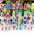 10pcs/lot 3D carton bubble sticker of sesame street puffy stickers for kids birthday present, party favor