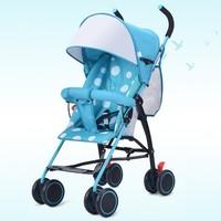 Summer Easy Carry Ultra Light Umbrella Stroller Portable Travel Baby Stroller Foldable Baby Carriage Four Wheel Cart