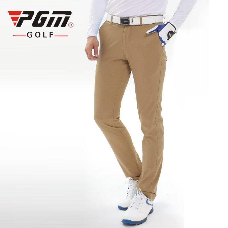 PGM Colorful Golf Pants Men Solid Nylon Fall Breathable Slim Pant Sport TEE Golf Summer Thin Trousers Golf Apparel