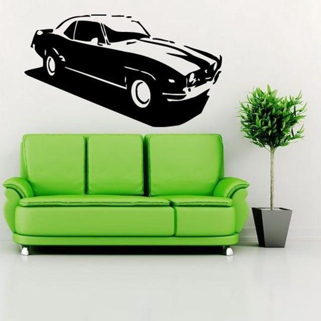 Automašīnas uzlīme Automašīnas uzlīme Klasiskās automašīnas - Mājas dekors