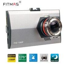 Автомобильные Видеорегистраторы Тире Камеры 3.0 Дюймов FHD 1080 P 170 Градусов автомобиль Видеорегистратор В Камеры Автомобиля Супер Ночь Версия Автомобильный Видеорегистратор камера
