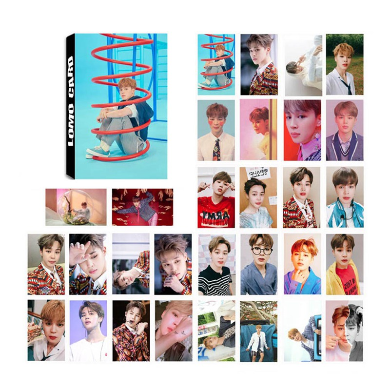 30 Pcs/set Kpop Bts Bangtan Boys Love Yourself Answer Album Lomo Photo Card Pvc Cards Self Made Card Photocard
