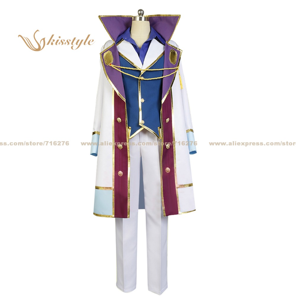 Kisstyle Fashion Snow White with the Red Hair First Prince Izana Wistalia Uniform Clothing Cosplay Costume,Customized Accepted