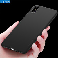 X Level Bare Phone Feeling Full Protection Ultra Thin Soft Matte Coque Cover Phone Case For