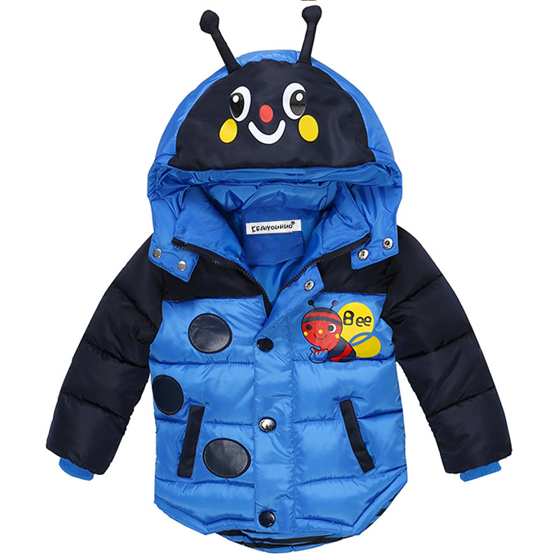 Winter Children Boys Jackets fashion Girls Winter Coat Kids Outerwear Baby Boys & Girls Down Jacket Hoohed Clothes fashion baby boys jacket 2018 children clothing winter outerwear kids clothes 1 6 yrs boys hoodies down coat boys jackets