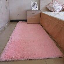80*160 см Мода Carpet Спальня Украшения Soft Floor Carpet Теплый Красочный Гостиная Коврики Нескользящие Коврики